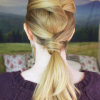 Tutorial For Gorgeous Twisted Low Ponytail–Get it