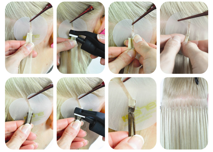 How To Apply And Remove Fusion Hair Extensions