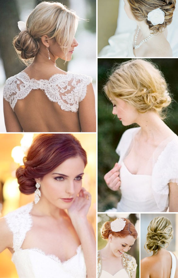 97+ Bridal Hairstyles Side Bun With Veil - Wedding Hairstyles Long ...