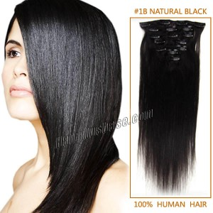 20-inch--1b-natural-black-clip-in-remy-human-hair-extensions-12pcs-10520-tv
