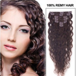 20-inch--2-dark-brown-clip-in-indian-hair-extensions-natural-loose-wavy-7-pcs-21578-t