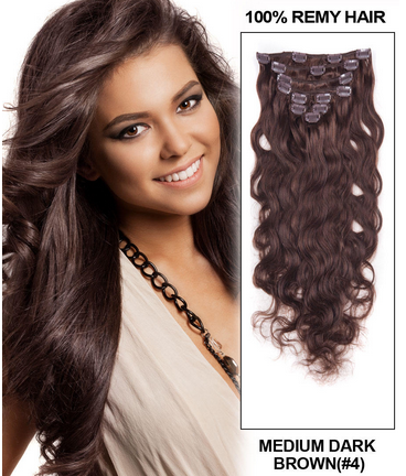 Best clip in hair extensions for brown hair pmusecretfo Gallery