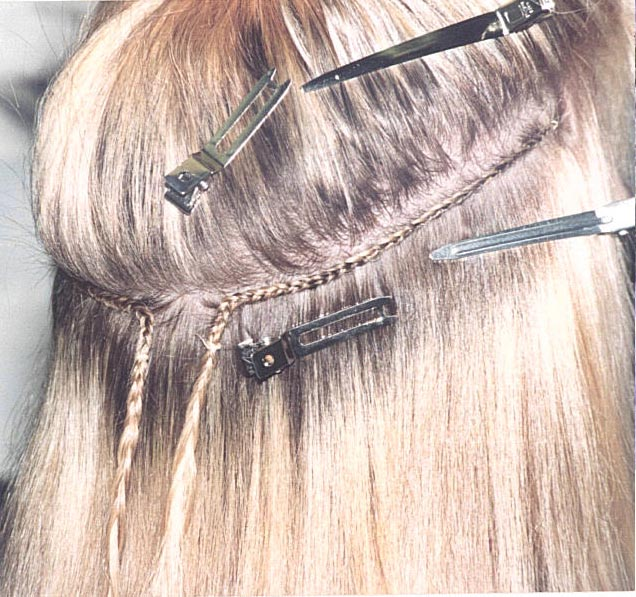 How To Sew Weave Hair Extensions