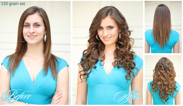 Why are hair extensions hair extensions before after diana1 pmusecretfo Choice Image