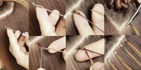 How to apply micro loop hair extensions first prepare your hair before the application of micro loop hair extensions you must ensure that your hair is free from oil dirt or styling products pmusecretfo Images