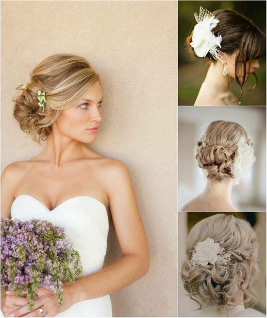Trend Updo Hair Styles For Wedding Autumn By