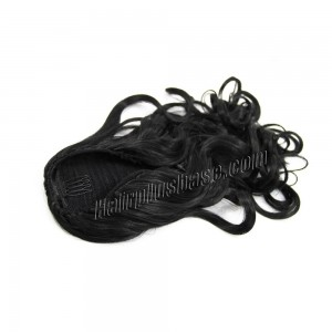 22-inch-invisible-drawstring-human-hair-ponytail-curly--1-jet-black-22005-tv