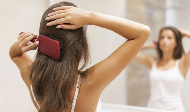 Brush Your Hair Gently in Daily Morning and Before Going to Bed
