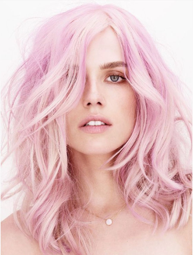 Millennial Pink Hairstyle