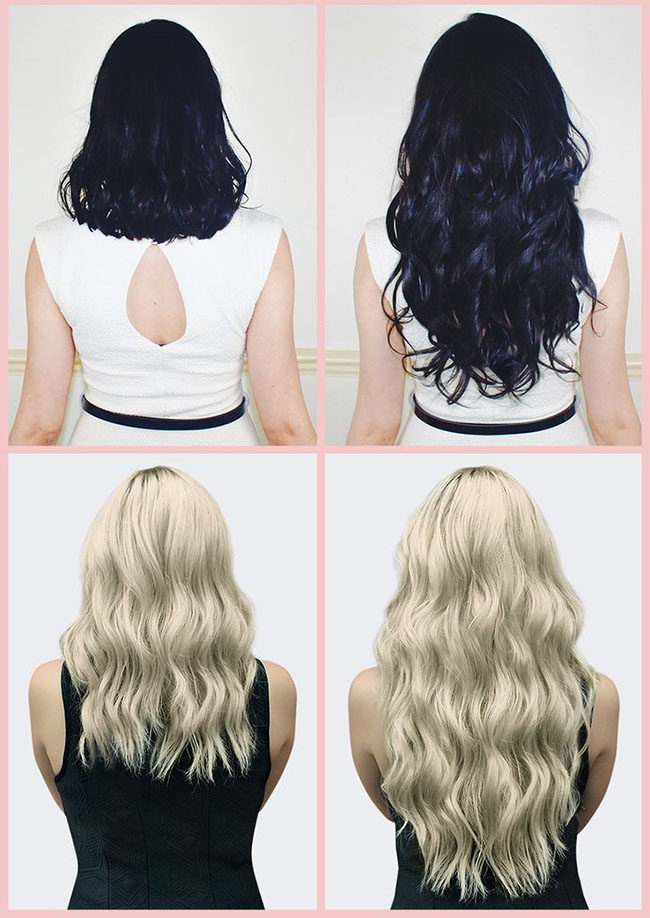 Human Hair Extensions Can Add Instant Length To Your Hair