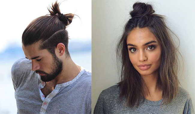 The Artsy Top Knot