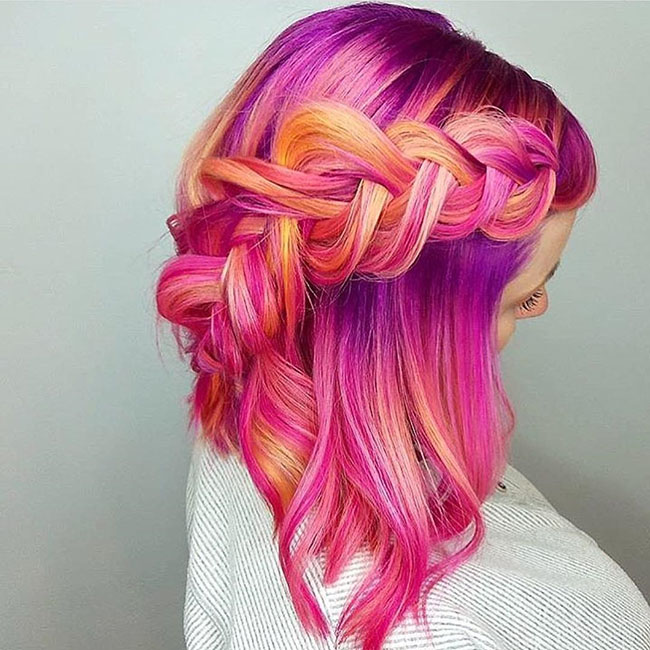 Use Hair Extensions To Change Colors As Will